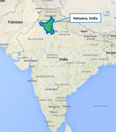 India project map